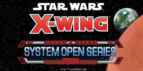 Paris Star Wars X-Wing System Open 2019