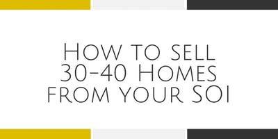 How to Sell 30-40 Homes Each Year - Falls Church