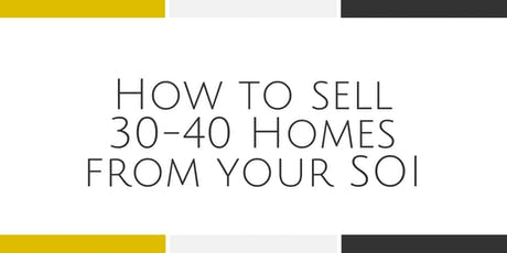 How to Sell 30-40 Homes Each Year - Falls Church tickets