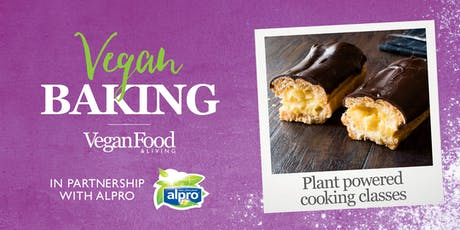 Vegan Baking - Plant Powered Series tickets