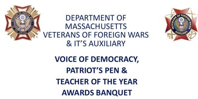 Voice of Democracy, Patriot's Pen & Teachers Awards Banquet