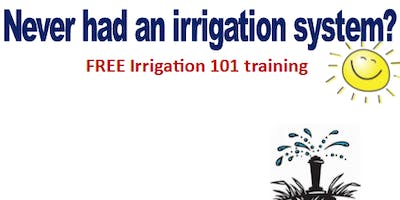 Irrigation 101 - Please go to Florida-Friendly Landscaping page to register.