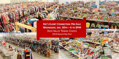 Kid's Closet - North Phoenix - 6pm Pre-sale - Jan. 30