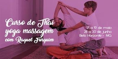 Curso de Thai Yoga Massagem com Raquel Furquim - BH
