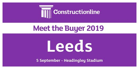 Leeds Meet the Buyer 2019 tickets