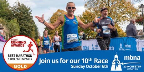MBNA Chester Marathon 2019 tickets