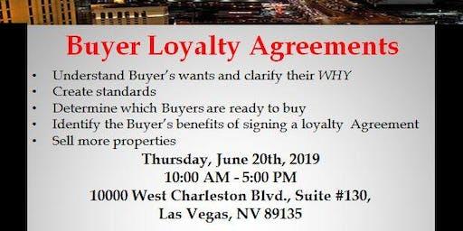 Buyer Loyalty Agreement