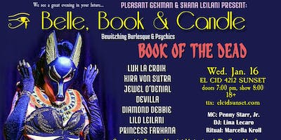 """Belle, Book & Candle   """"BOOK OF THE DEAD"""""""