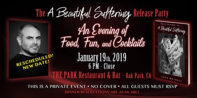 NEW DATE - The A BEAUTIFUL SUFFERING Release Party - An Evening of Food, Fun, and Cocktails