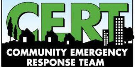 Incident Command System - ICS (CERT Continuing Education) tickets