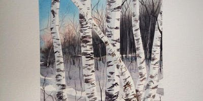 January Watercolor Class with Jenny Mathews
