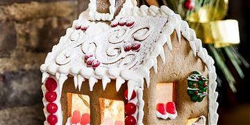 Culinary Academy - How To Decorate A Gingerbread House  2PM Class