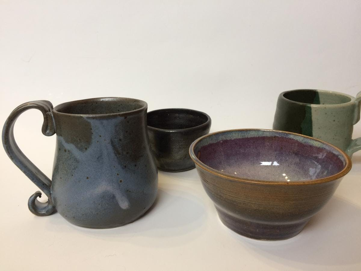 Pottery - Wheel Throwing: Level 1