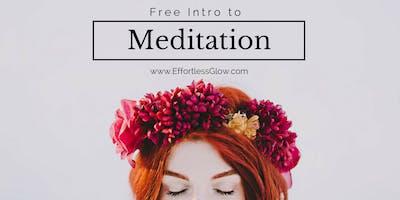 Laguna Beach - Intro to Vedic Meditation at 6:30pm
