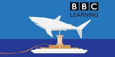 STEM Saturdays at Microsoft – How Do Sharks Swim?