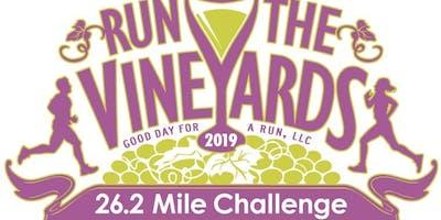 Run the Vineyards - 26.2 Mile Finisher Challenge - 2019