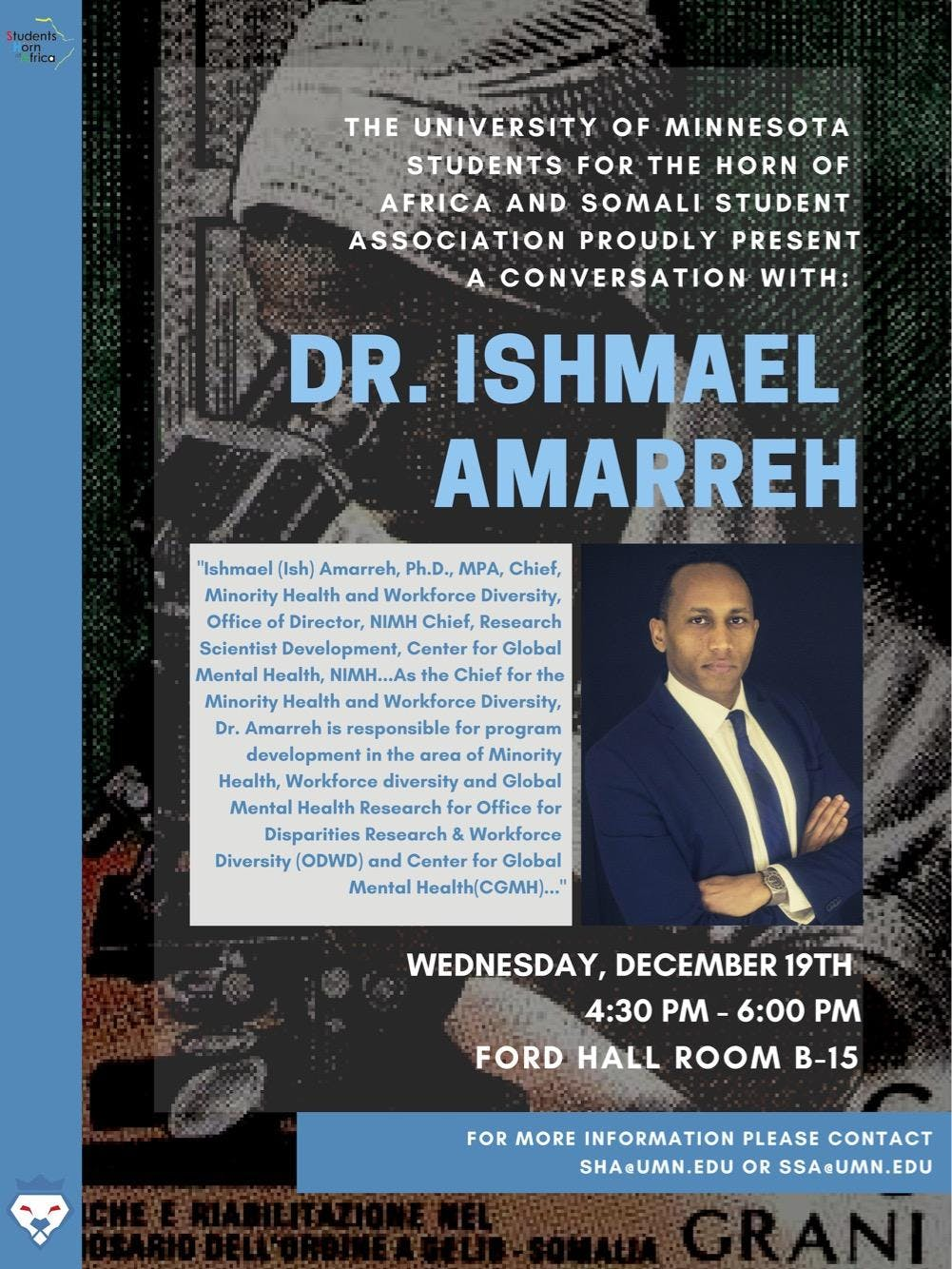 Conversation with Dr. Ishmael Amarreh