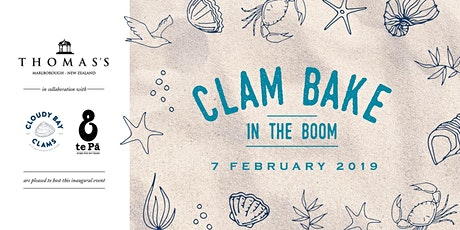 Save the Date: Clam Bake in the Boom 2020 tickets