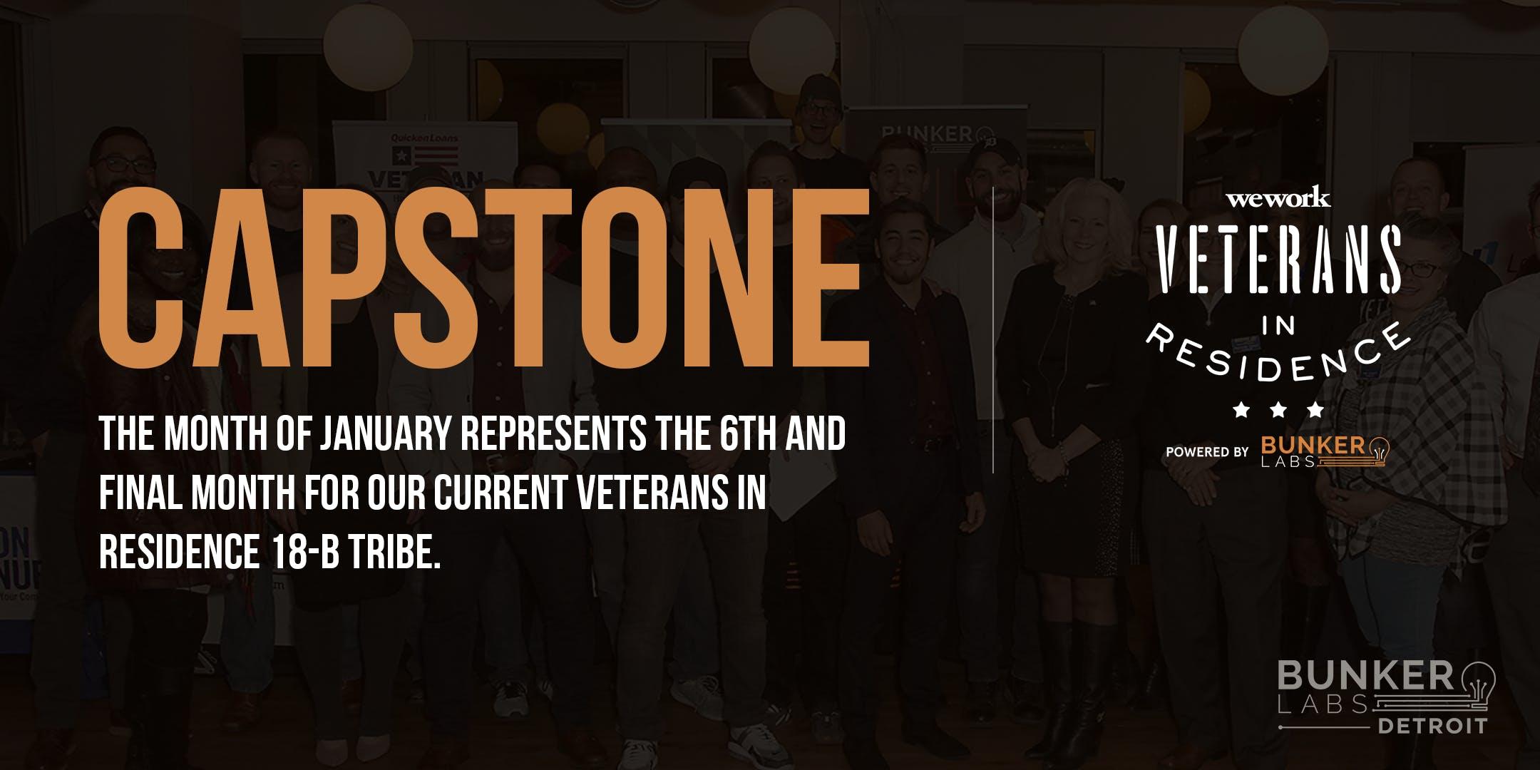 WeWork Veterans in Residence Powered by Bunker Labs: Detroit Capstone 18B