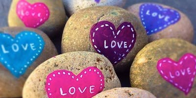 Valentine's Heart Rocks