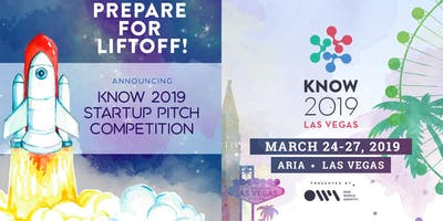 KNOW 2019 Startup Pitch Competition - Las Vegas - March