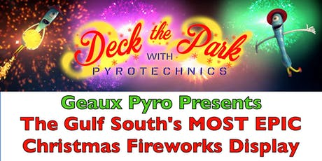 Deck the Park with Pyrotechnics 2019 tickets