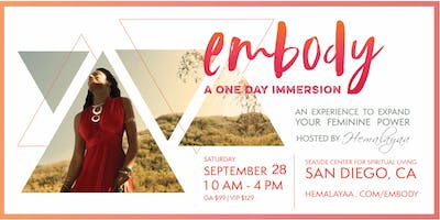 Embody, an immersion for Women
