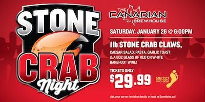 Stone Crab Night (Grande Prairie)