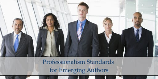 Professionalism Standards for Emerging Authors