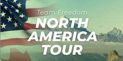 Team Freedom North America Tour - Rocklin