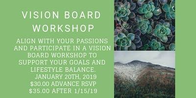 2019 Vision Board Workshop: Create Lifestyle Balance and Set Goals