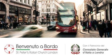 Incontro d'orientamento Italiani a Londra  biglietti