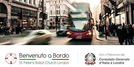 Incontro d'orientamento Italiani a Londra  tickets