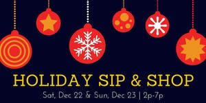 Holiday Sip & Shop: African Fashion, Gift Items, & More