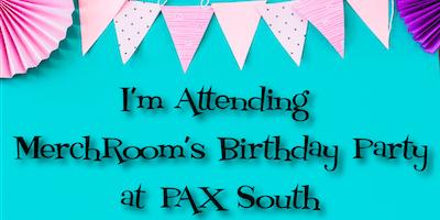 MerchRoom's 1 Year Birthday Party