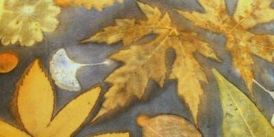 Create with Leaf Essence eco-printing on silk