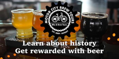 Bike & Brew Tours - Brew Detroit tickets