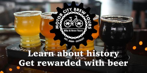 Bike & Brew Tours - Brew Detroit