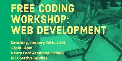 Math 4 Success presents Free Coding Workshop: Web Development