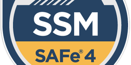 SAFe 4.6 Scrum Master Certification  tickets