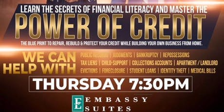 POWER OF CREDIT TAMPA tickets