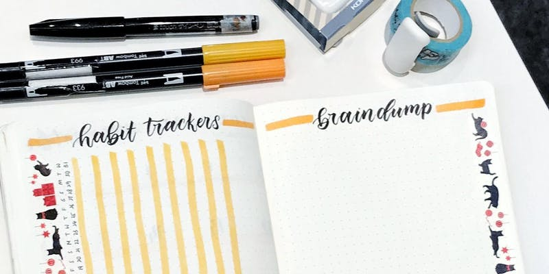Workshop - Getting Started with Bullet Journal® by stephtcreates 190105