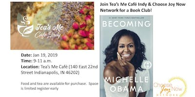 Tea Time: Book Club: Becoming by Michelle Obama