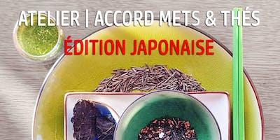 Atelier Accord Mets & Thés | Édition Japonaise | le 2 Février