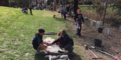 Spring Scouting at Moonee Ponds Creek