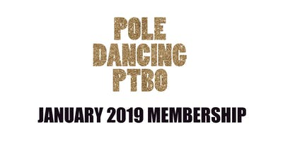 Pole Dancing PTBO- January 2019 Membership