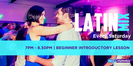 Saturday Night Latin Dance Intro Lesson + Free Party Entry - Heart of West End, Every Saturday! All Welcome