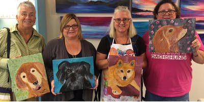 Pet Painting Party