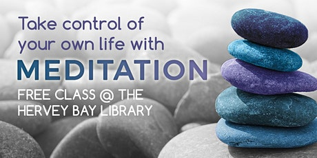 Meditation with Annemarie De Seriere - Hervey Bay Library tickets