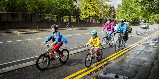 Free family cycle training sessions
